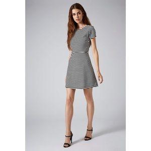 🌿2/$50 TOPSHOP | striped skater dress, US 6